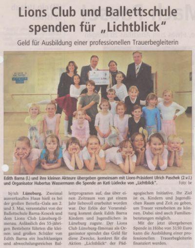 Landeszeitung, den 12.06.2009