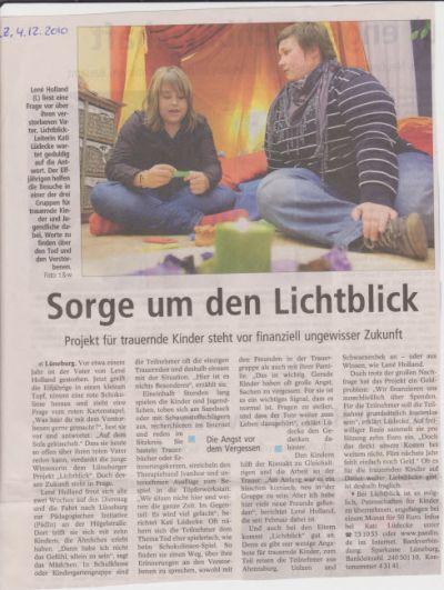 Landeszeitung, den 04.12.2010