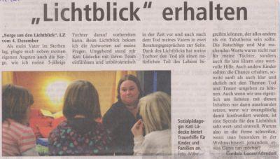 Landeszeitung, den 09.12.2010