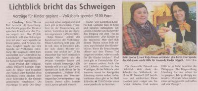 Landeszeitung, den 20.01.2011