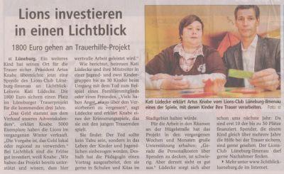 Landeszeitung, den 20.04.2011