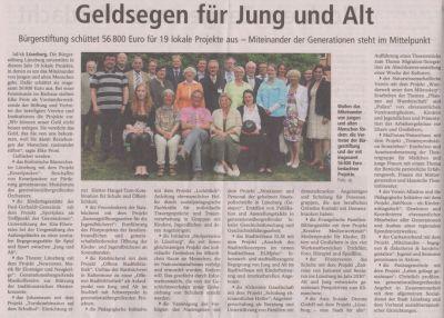 Landeszeitung, den 12.05.2011