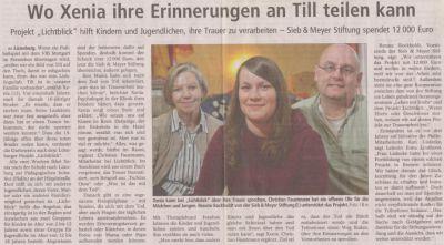 Landeszeitung, den 23.11.2011