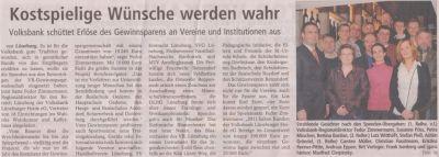 Landeszeitung, den 03.02.2012