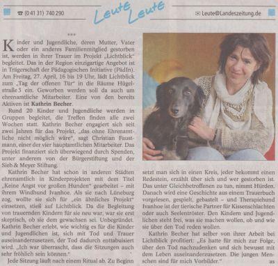 Landeszeitung, den 21.04.2012