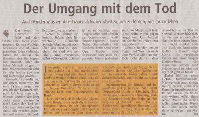 Landeszeitung, den 18.05.2012