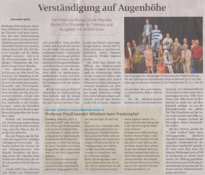 Landeszeitung, den 20.08.2018